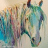 Shannon Ford, Rainbow Stallion, y79 X 79