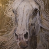 Shannon Ford, Thief of Hearts, 84 X 48 D, Acrulic on Canvas Diamond Dust, Palladium, Pyrite  lr