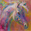 Shannon Ford, Happy Appaloosa, 24 X 24