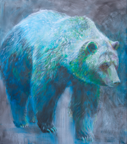 grizzly bear contemporary art top canadian artist